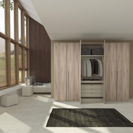 臥室-開門衣櫃