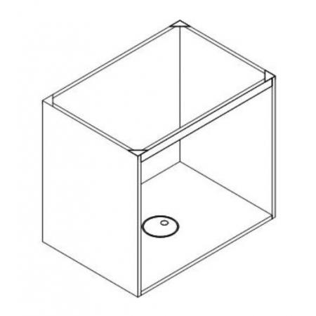 ATG-有背板水槽底櫃(4CM前橫桿)